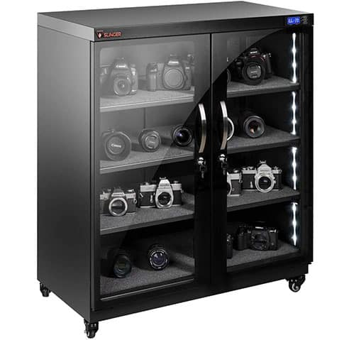 Best Electronic Dry Cabinet for Photography Equipments