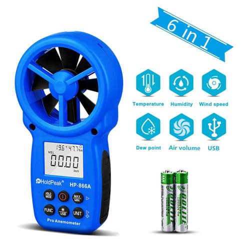 Best Handheld Anemometer for Outdoor Usage