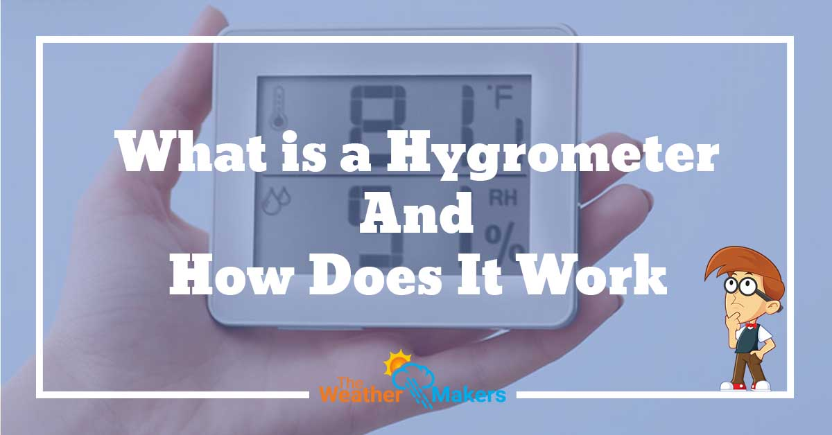 how does a hygrometer work