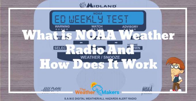 how does a noaa weather radio work