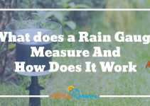 how does a rain gauge work