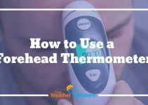 how to use a forehead thermometer