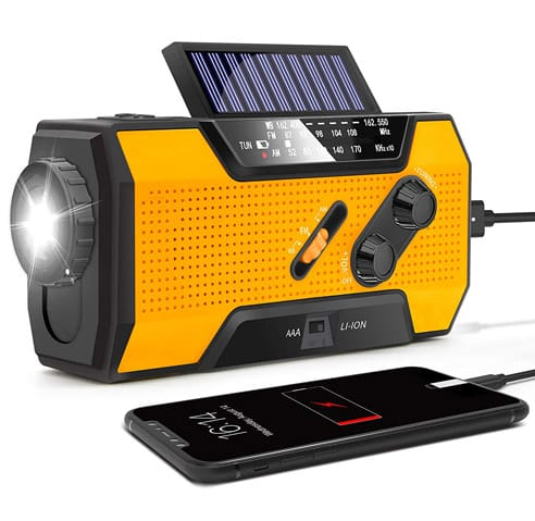 Best Light Weight Weather Radio