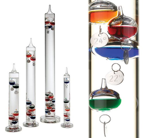 what is galileo thermometer and how to read it